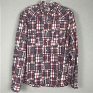 Lucky Brand Western Flannel Long Sleeve